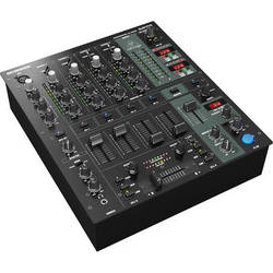 Behringer DJX750 Professional 5-Channel DJ Mixer with Mic Input
