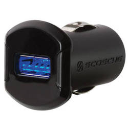 Scosche reVOLT 12W USB Car Charger with Illuminated USB Port