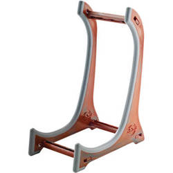 K&M 15550 Violin/Ukulele Display Stand (Wooden Look)