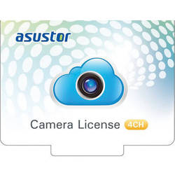 Asustor 4-Channel Camera Licenses