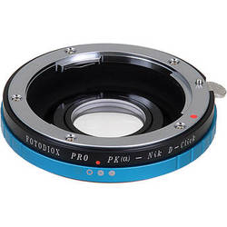FotodioX Pro Lens Mount Adapter for Pentax K Lens to Nikon F Mount Camera