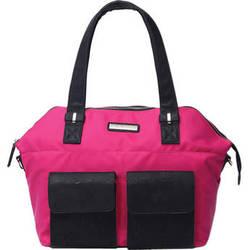 Kelly Moore Bag Ponder Bag with Removable Basket (Magenta)