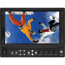 "Marshall Electronics 7"" 1920 x 1080 Camera-Top Monitor with HDMI Input & Dual 3G-SDI Output Module"