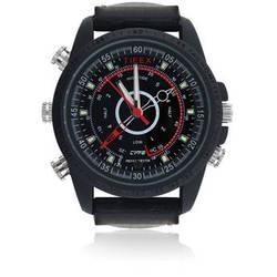 BrickHouse Security HD Water-Resistant Spy Watch (Black)