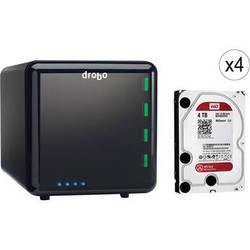 Drobo 16TB (4 x 4TB) 4-Bay USB 3.0 Storage Array Kit