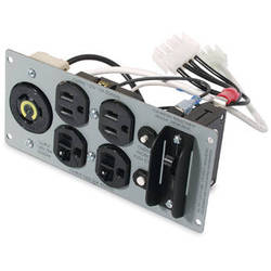 APC Backplate Kit For SUA2200RM2U, SUA3000RM2U Uninterruptible Power Supply