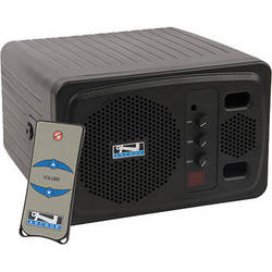 Anchor Audio AN-130F1RCBK+ Speaker Monitor with One Wireless Receiver & Remote Control (Black)