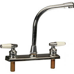 Delta 1 Faucet Set I (Solid Brass Plated)