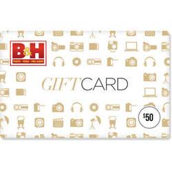 B&H Photo Video $50 Gift Card