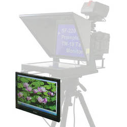 """Mirror Image 19"""" Talent Monitor for SF Series Studio Prompters"""