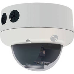 American Dynamics Illustra 400 IP Series ADCI400-D052 0.6 MP Indoor Mini-Dome Camera with 3.3 to 12mm Varifocal Lens (Silver)