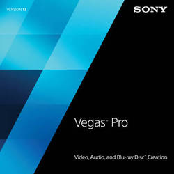 Sony Sony Vegas Pro 13 Crossgrade from Competitive Software (Download)