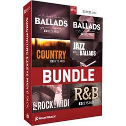 Toontrack Songwriting EZkeys MIDI 6 Pack (Download)