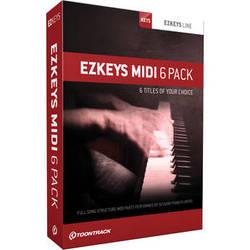 Toontrack EZkeys MIDI 6 Pack (Boxed)
