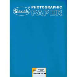 "Slavich Unibrom 160 BP Grade 2 FB Black & White Paper (Smooth Matte, 12 x 16"", Single Weight, 100 Sheets)"