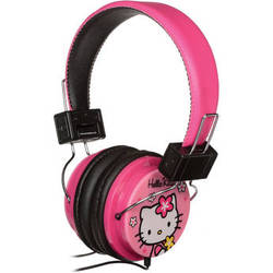 Sakar Hello Kitty HK Headphones (Pink)