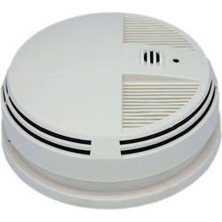 KJB Security Products Xtreme Life Series Smoke Detector with 720p Covert Camera (Bottom View)