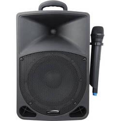 Speco Technologies PAW60BTM 60W Portable PA Amplifier with Wireless Microphone