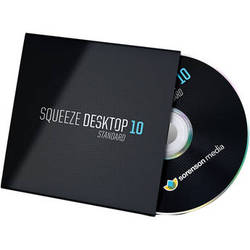 Sorenson Media Squeeze Desktop 10 Standard Upgrade from Squeeze 7 and Older (EDU/GOV Pricing, DVD)