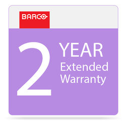 Barco 2-Year Extended Warranty for F12 Projector