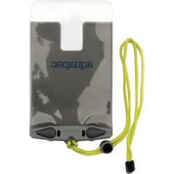 Aquapac Waterproof Case for iPhone 6 Plus/6s Plus (Cool Gray with Acid Green Lanyard)