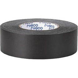 "Rosco GaffTac Gaffer Tape - Black (2"" x 54yd) - 2 Pack"