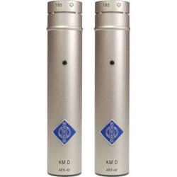 Neumann KM 185 D Hypercardioid Digital Microphone with AES/EBU Output (Stereo Pair, Nickel)