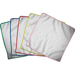 """Mobile Cloth MOBiLE CLOTH Z5 9 x 9"""" Cleaning Cloths for iPads, Tablets, Touchscreens, & Lenses (5-Pack)"""