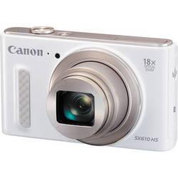 Canon PowerShot SX610 HS Digital Camera (White)