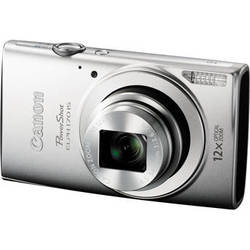 Canon PowerShot ELPH 170 IS Digital Camera (Silver)
