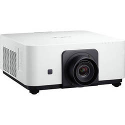 NEC NP-PX602WL-WH 6000 Lumen WXGA Professional Installation Laser DLP Projector (White, No Lens Included)