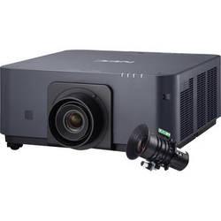 NEC NP-PX602UL-B-35 6000 Lumen WUXGA Professional Installation Laser DLP Projector with NP35ZL Lens (Black)