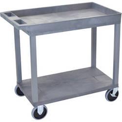 Luxor EC12HD-G 18 x 32 Cart (1 Tub, 1 Shelf, HD, Gray)