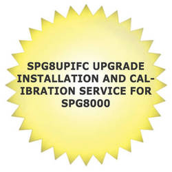 Tektronix SPG8UPIFC Upgrade Installation and Calibration Service for SPG8000