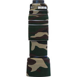 LensCoat Lens Cover for Canon 100-400mm f/4.5-5.6 IS II (Forest Green Camo)