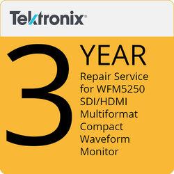 Tektronix Repair Service of 3 Years for WFM5250 SDI/HDMI Multiformat Compact Waveform Monitor