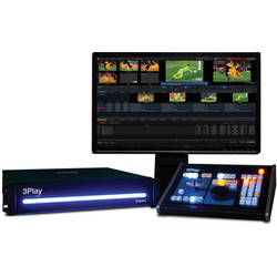 NewTek 3Play 440 Instant Replay System with Control Surface