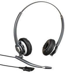 Plantronics EncorePro HW720 Binaural Headset with Noise-Canceling Mic
