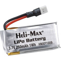 Heli Max 250mAh 1S 3.7V LiPo Battery for 1Si and 1SQ Quadcopter