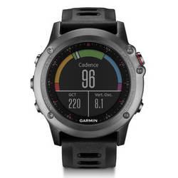 Garmin fenix 3 Multisport Training GPS Watch (Gray with Black Band)
