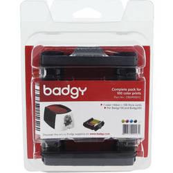 Evolis Consumable Pack for Badgy100 & Badgy200 Card Printers (100 Prints)
