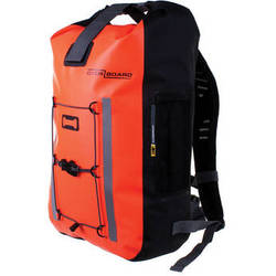 OverBoard Pro-Vis Waterproof Backpack (30L, High Visibility Orange)