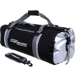 OverBoard Classic Waterproof Duffel Bag (60L, Black)