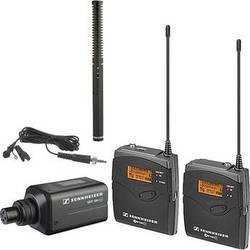 Sennheiser ew 100 ENG G3 Wireless Combo Mic System and Rode Battery/Phantom Shotgun Mic Kit B (626-668 MHz)