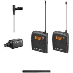 Sennheiser ew 100 ENG G3 Wireless Combo Mic System and Rode Battery/Phantom Shotgun Mic Kit G (566-608 MHz)