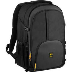 Ruggard Thunderhead 75 DSLR & Laptop Backpack (Black)