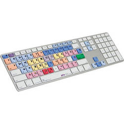 LogicKeyboard Pro Line Avid Media Composer Apple Ultra-Thin Aluminum Keyboard