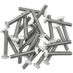 "Quam-Nichols #8-32 x 1"" Button Head Pin-in-Torx Screws (24-Pack)"