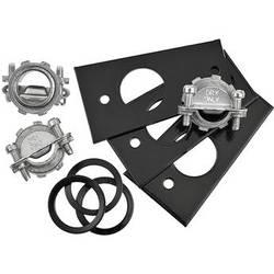 Quam-Nichols Conduit Entry Plates for QH16T Paging Horn (3-Pack)