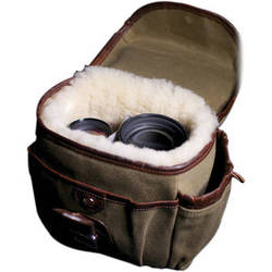 HoldFast Gear Explorer Small Lens Pouch (Olive with Brown Trim)